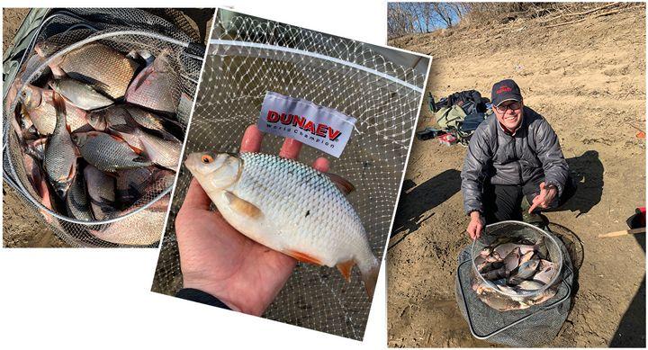 Рыбалка. Три фидерных дня на весенней Москва реке